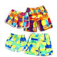 big mens swimwear - Hot Sale Mens Beach Shorts Personality Printing Swimming Shorts For Men Couple Beach Shorts Swimwear Women Big Sizes S XL P52