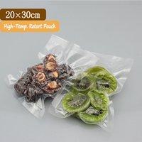 barrier bags food - Retort Bags x30cm Good Barrier Transparent High Temperature Retort Vacuum Bag Retort Food Bag Retort Bags