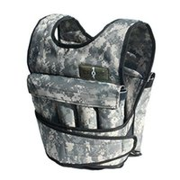 adjustable weighted vest - 20LB Adjustable Weighted Camo Workout Weight Vest Training Fitness NEW
