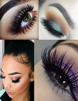 Wholesale 1 pair D mink eyelash real mink full Handmade crossing lashes A01 A10