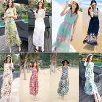 bell skirt pattern - 2016 Summer New Pattern Sleeveless Broadband Sweet Shivering Chiffon Dress Posimi Second On Vacation Sandy Beach Skirt Longuette Woman