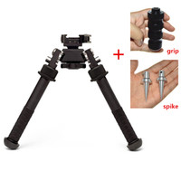 camera grip - 70 off Geart Deal Black Camera Atlas V8 Photo Tripod BT10 LW17 Picture Bipod With QD Mount And Metal Grip with Spikes
