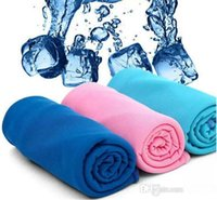 Wholesale Cold Towel Ice Towel Exercise Sweat Summer Sports Ice Cool Towel Hypothermia Cooling Towel cm for Children Adult Hot