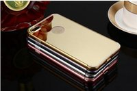 Wholesale Chirstmas iPhone Mirror Electroplating Soft TPU Case For iphone S Plus s Samsung Note S7 edge Back Cover Phone Cases