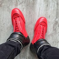 b lights types - New Type of High Top Mens MMM Widely Popular Brand Maison Martin Margiela Stitching Shoes