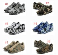 baseball france - 2016 hot sale MAXIM France SP running shoes men camouflage max sports shoes discount max camo athletic shoes size