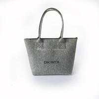 artwork shops - felt designer handbags simple handbag OL Commuter bag Pack killer tide felt Shoulder bag Shopping bag