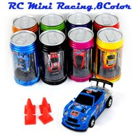 Wholesale 2016 Hot Sale Brand New colour Coke Can for Mini Remote Control Car Best as a gift