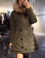 Cheap M65 luxury brand jacket parkas for women winter real raccoon fur women jacket warm anorak women coats parka women jackets