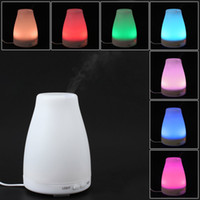 air freshener light - Mini Ultrasonic Air Humidifier And Aroma Diffuser with Color LED Night Light Mist Air Freshener Purifier PP ML Capacity Hot Sale ST