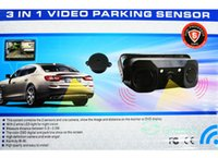 auto distance sensor - Auto Video Parking Sensor With Rear View Camera quot Car Parking Monitor Sound Alarm and Display Distance