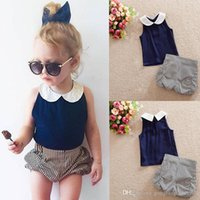 baby boy dress outfit - 2pcs Toddler Infant Kids Baby Girls Clothes T shirt Tops stripe Pants Dress Outfits Set
