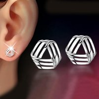 Crystal, Rhinestone animal rhymes - Fashion sterling silver plated small fow rhyme stud earrings high quality cheap jewelry for women earrings