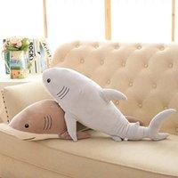 best friend stuffed animal - Plush Ocean Cartoon Shark Toys Soft Cute Pillow Super Soft Stuffed Animal Shark Dolls Best Gifts for Kids Friend Baby quot