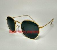 Precio de Gafas de diseño fresco-Las gafas de sol populares del estilo de las gafas de sol de la manera de las gafas de sol grises cristalinas estupendas del marco de los vidrios de Sun del diseñador liberan el envío