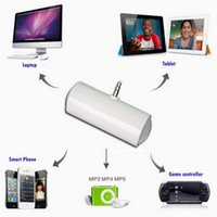 Wholesale 3 mm Mini Portable Speaker For iPhone for LG for Nexus for S4 for i9500 for N9000 for MP4