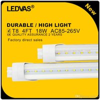 Wholesale LEDVAS x W T8 LED Tube SMD2835 LM PF gt Light Lamp Bulb mm m Ft AC85 V Year Warranty