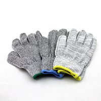 Wholesale Free DHL Cut Resistant Gloves High Performance Level Protection Home Kitchen Work Food Contact Safe Work Glove Kitchen Glove E804E