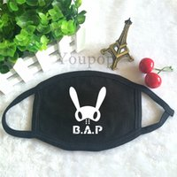 best face masque - Youpop KPOP Fan B A P Best Absolute Perfect BAP Team Logo K POP Antidust Cotton Mouth muffle Masques Face Mask