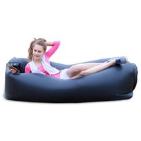Wholesale 245 cm Portable Waterproof Inflatable Sofa Air Sofa Lazy Sleeping Inflatable Bed Bag For Camping Hiking Travel Beach