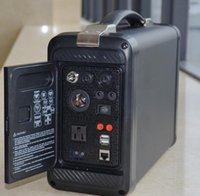 automobile generators - HOT Portable Solar Power panel Generator box W camping chargeable battery