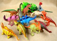 Wholesale HOT SALE Prehistoric Good Rubber Simulation Jurassic Park Animals World Cartoon Dinosaur Models cm