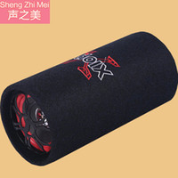 agent audio - Manufacturers selling car subwoofer car audio bass household card computer speakers wooden recruit agents