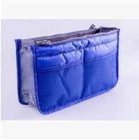 Wholesale 40pc new arrival storage bag MultiFuncitonal Cosmetic Makeup Toiletry Travel Wash Bag Holder Pouch Set Kit purse honestgirl09