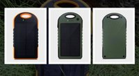 Wholesale 12000 mAh Portable Waterproof Solar Charger USB External Battery Power Bank There Are Power Bank Mah And Power Bank And Solar Pow