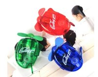 Wholesale Retail Handheld Mini Water Spray Fan Outdoor Sports Hand held Atomization Fan Mountaineer Carabiner Travel Sprayer Fans
