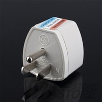 Wholesale 1pc Universal Travel Adapter AU UK EU to US AC Power Plug Adapter Adaptor Converter Outlet Home Travel Wall
