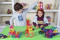 Wholesale Children s Educational Building Blocks Of Transparent Plastic Magnetic tablets