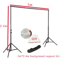 Wholesale Inno Photo Studio Background Support stand x2 m with Free Backdrops backgrounds for stand kits high quality photography PSBS3