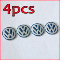Wholesale Freeshipping mm Remote Key Fob Logo Badge Emblem For Volkswagen VW Jetta Golf Passat M17770