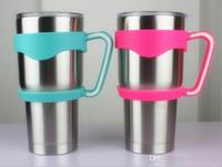 Wholesale 2016 New American YETI Cup cars handle OZ stainless steel handle oz beer mug handle