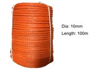 Wholesale Factory Direct Sale MM M Plasma rope UHMWPE Synthetic Winch Line