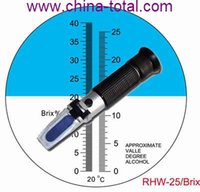 alcohol mail - Mail RHW Brix Brix Wine refractometer Alcohol Testing with Wine Vol Brix