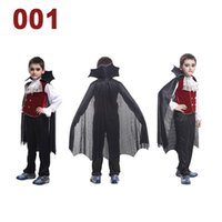 children fashion garment - 2016 Hot Hallowmas Children Cloths Child Party Apparel Halloween Vampire COS Cosplay Kids Costume Fashion Clothing Garment