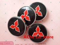 Wholesale 4pcs mm Mitsubishi modification wheel center hub cap Outlander wheel cap cover Auto accessories