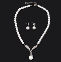 adorn article - The new han edition necklace bridal jewelry pearl sets foreign trade Korean wedding the bride adorn article suit