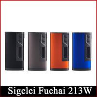 battery calculations - 100 Original Sigelei Fuchai TC Box Mod W Celsius based TCR calculation Dual battery