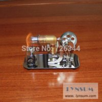 Wholesale SZ002 Hot Air Stirling Engine Model engine bicycle engine bar engine bar