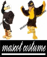 bald eagle - Custom made fierce bald eagle falcon mascot costumes Halloween Costumes Christmas Party Adult Size Fancy Dress high quality factory sale