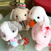 big charcoal - 1pcs cm New Cute Japan Kawaii Long Ear papa Lop Rabbit with Bamboo charcoal bag big headDoll Plush Toys car decoration Gift