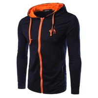 best outerwear brands - Fall New Brand Casual Solid Men Jacket Best selling Outerwear Sports Hat Jacket Coat Color PSW09