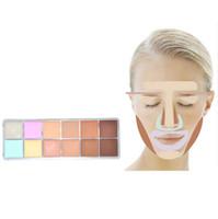 Wholesale Hot Sale Makeup Naked colors Brighten Natural Whitening Concealer Cream Cosmetics Palette make up set