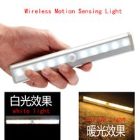 Wholesale Portable Wireless Motion Activated Detector Sensing LED Light Bar Automatic Battery Operated Stick on Anyplace with Magnetic Strip