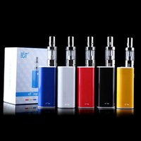 Wholesale ECT original athentic box mod et30p kit W E cig ml mini fog kit airflow control with mah et P e cigarette