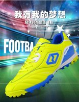 adult school shoes - Football shoes Soccer shoes Broken nail Adult male and Female Students in elementary Middle school students Train Bottom Genuine Leather Hot
