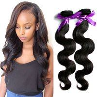 Wholesale Cheap Styling Products - MikeHair Russian Hair Weave Cheap Hair Body Wave Style 5A Grade Silky Human Hair Bundles 6-34Inch Mix Length 10Pcs Mike Hair Products